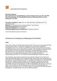 Claus Schenk Graf von Stauffenberg und der Umsturzversuch