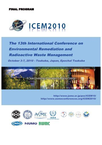 The 13th International Conference on Environmental ... - Events