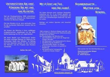 Download - Zisterzienserkloster Bochum-Stiepel