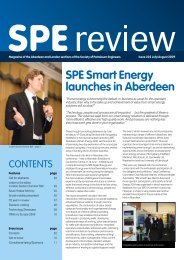 SPE Smart Energy launches in Aberdeen - SPE in the UK