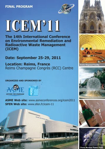ICEM11 Final Program 9.7.11pm_ICEM07 Final Program ... - Events