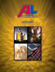 2 Convenient Toll-Free Service - Allergy Laboratories, Inc.