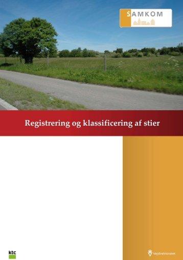 Registrering og klassificering af stier - Vejdirektoratet