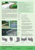 Aluminium- kantafgrænsning af stier og bede - Sachsenband - Page 2