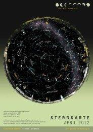 STERNKARTE April 2012 - Planetarium Hamburg
