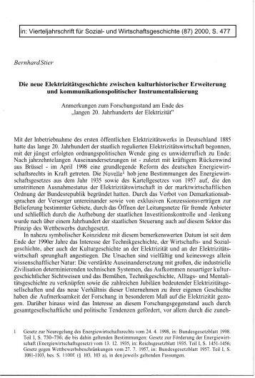 VSWG (Bernhard Stier) - ETH Technikgeschichte