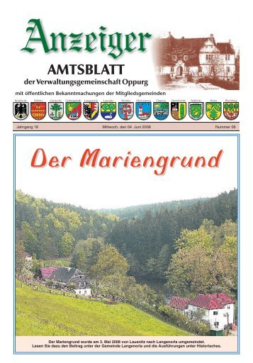 Der Mariengrund - VG Oppurg