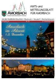 Amtsblatt Nr. 24 - Amorbach