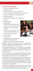 Informationen über die Phytotherapie-Ausbildung - Seite 3