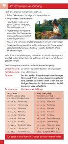Informationen über die Phytotherapie-Ausbildung - Seite 4