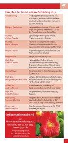 Informationen über die Phytotherapie-Ausbildung - Seite 5
