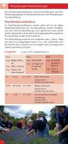 Informationen über die Phytotherapie-Ausbildung - Seite 6