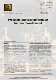 Preisliste Katalog - Komplett (676 KB) - Belladonna.de