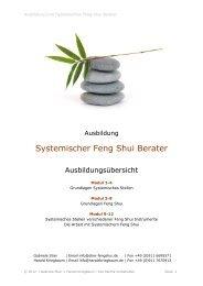 Systemischer Feng Shui Berater - HaraldKriegbaum.de