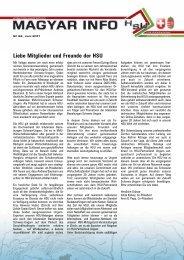 Liebe Mitglieder und Freunde der HSU