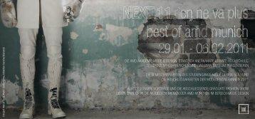 Graduate Fashion Show NEXT.11 - AMD München iMag: Home ...