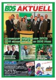 BDS-Aktuell_Nr78.qxd (Page 1) - Regenta Verlag