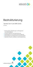 Restrukturierung - Home - Ernst & Young - Schweiz