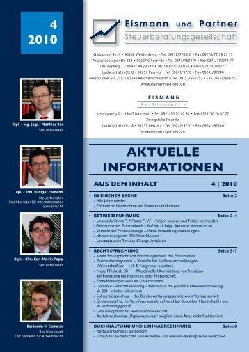 4-2010 PDF - EISMANN Rechtsanwälte