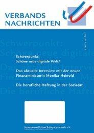Ausgabe 3/2012 - Steuerberaterverband Schleswig-Holstein e.V.