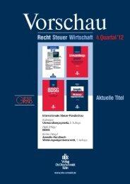 Internationales Steuerrecht - Verlag Dr. Otto Schmidt