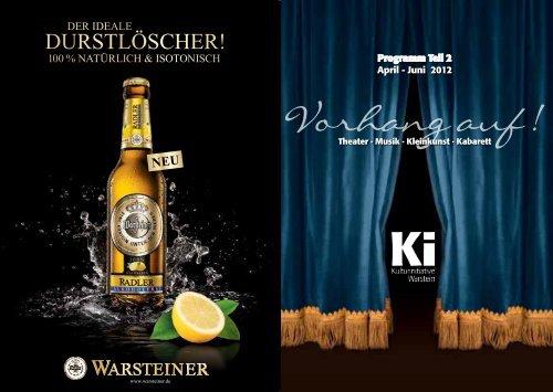 ki_programm_2_2012 - Kulturinitiative Warstein