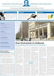 PDF-Download - Marketing und Kommunikation - Goethe-Universität