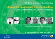 Financial Leadership und Controlling - ecomplan GmbH