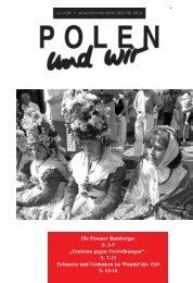 polen und wir - Deutsch-Polnische Gesellschaft der BRD eV