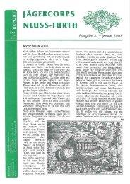 2003 St. Sebastianus Ausgabe - Jägercorps Neuss - Furth 1932