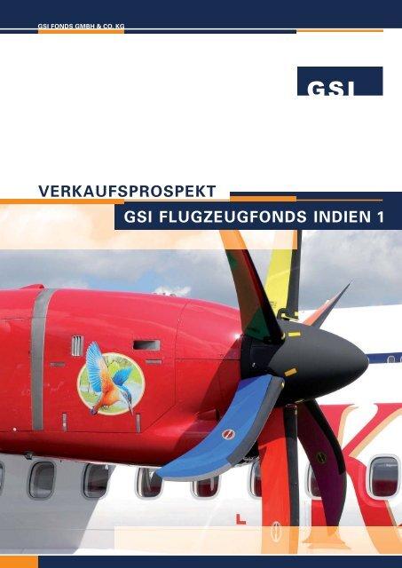 GSI Flugzeugfonds Indien 1 - Fondsvermittlung24.de