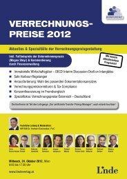 Seminarfolder - Linde Verlag