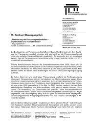 Tagungsbericht 35. Berliner Steuergespräch (pdf)