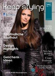 Geschenk- ideen Design Highlights ... - ROMA Friseurbedarf