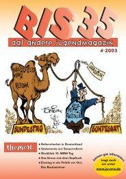 Ausgabe 04/2003 - PDF 1.6 MB - Junge Union NRW