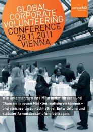 global corporate volunteering conference 28.11.2011 vienna - ICEP