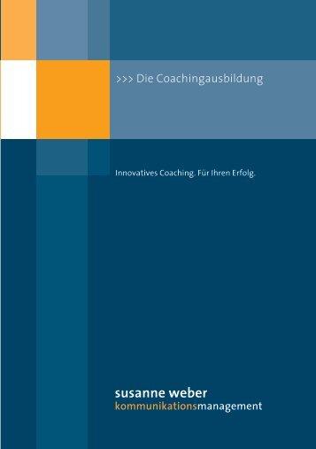 susanne weber - Coaching-Index