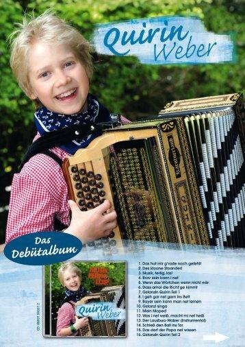 Quirin Weber - Musik, Fertig, Los! - adlmann promotion