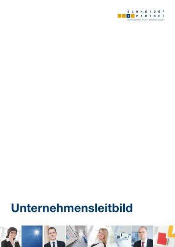 S+P Unternehmensleitbild (PDF) - Schneider + Partner GmbH