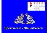 Sportverein - Steuerberater - Sportkreis Bodensee