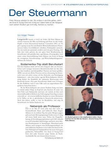 Der Steuermann - Home - Ernst & Young - Schweiz