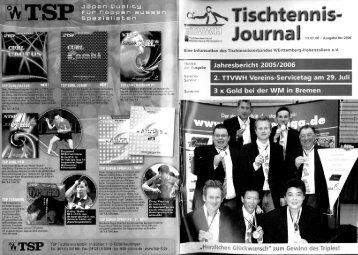 TTVWH-Jahresbericht 2005/2006