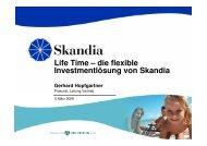 Skandia Life Time - FONDS professionell