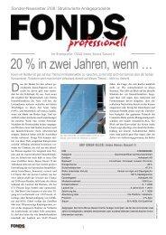 Zertifikate-Newsletter - FONDS professionell