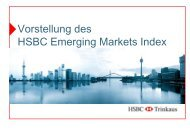 Vorstellung des HSBC Emerging Markets Index - FONDS professionell
