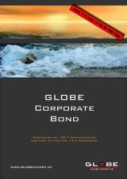 GLOBE Corporate Bond GLOBE Corporate Bond - FONDS ...