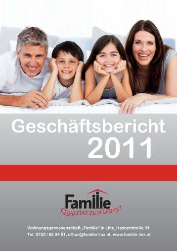 Geschäftsbericht 2011 downloaden - Familie in Linz