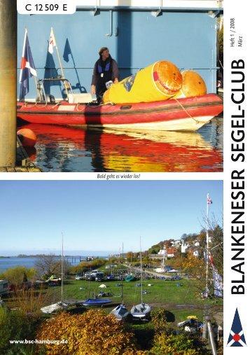 Ausgabe 01/2008 (März) - Blankeneser Segel-Club eV