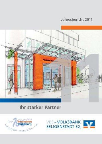 Jahresbericht 2011 - VOLKSBANK SELIGENSTADT EG