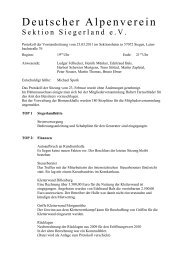 Dienstag, den 19.04.2011 um1900 Uhr - Deutscher Alpenverein ...